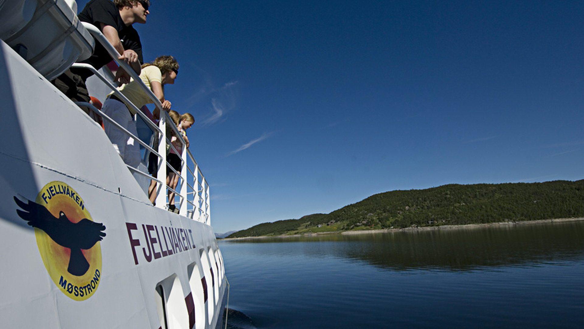 Høyfjellscruise på Møsvatn med MF Fjellvåken