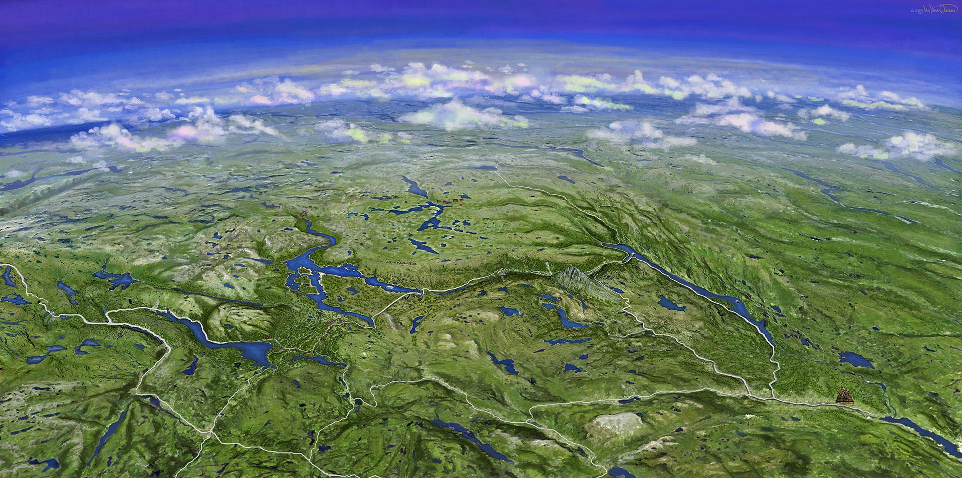hardangervidda kart Kart   Hardangervidda