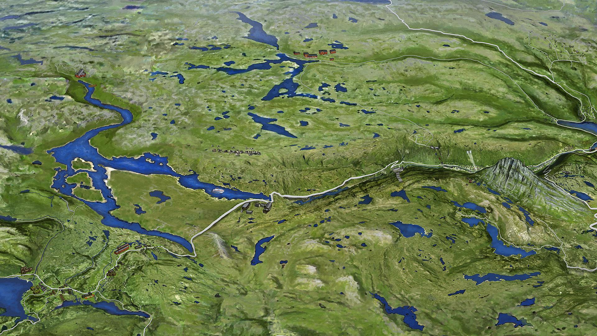 kart over rauland Kart   Hardangervidda